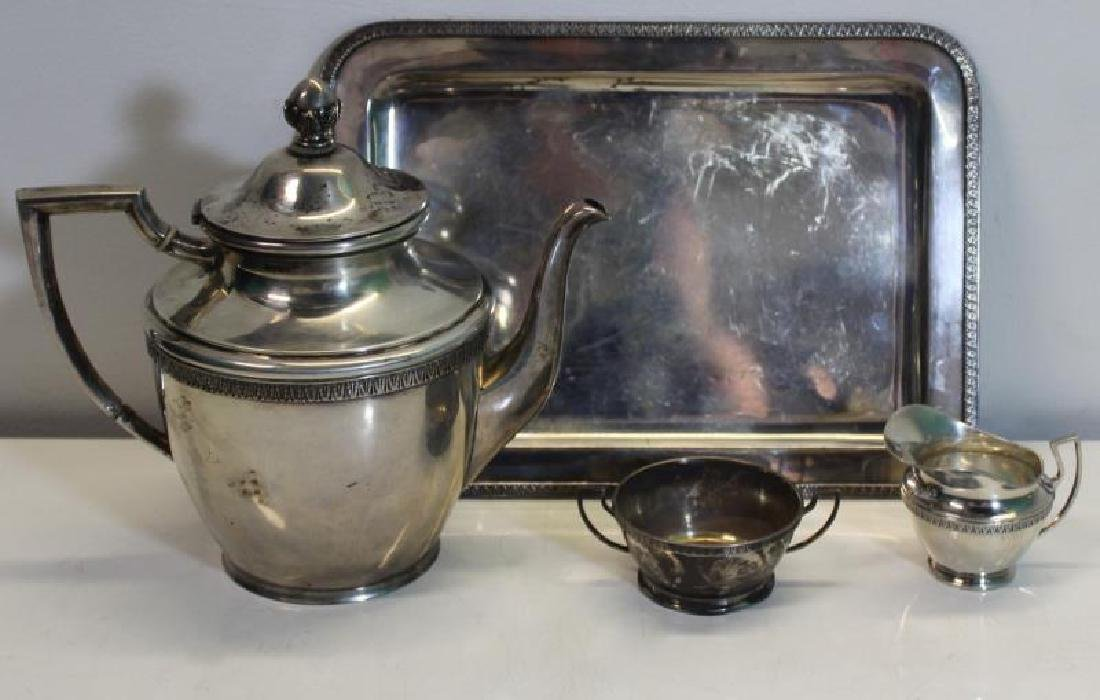 SILVER. Assorted Grouping of Silver Hollow Ware. - 9