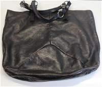 Vintage Yves St Laurent Leather Rive Gauche Purse.