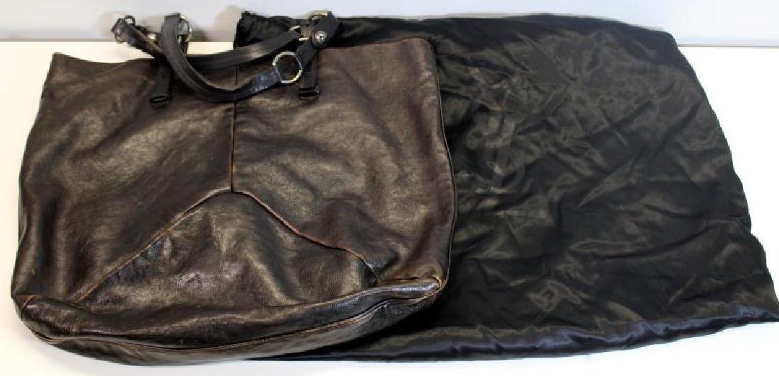 Vintage Yves St Laurent Leather Rive Gauche Purse. - 2