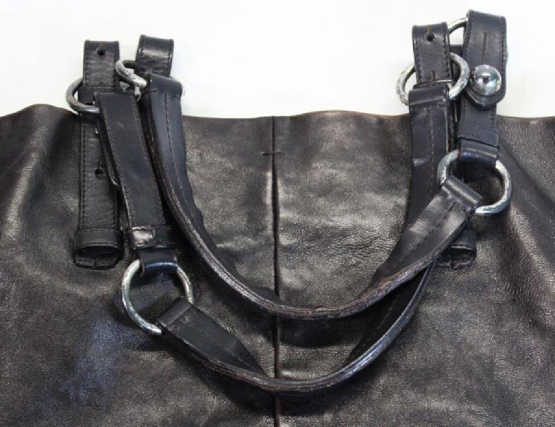 Vintage Yves St Laurent Leather Rive Gauche Purse. - 4