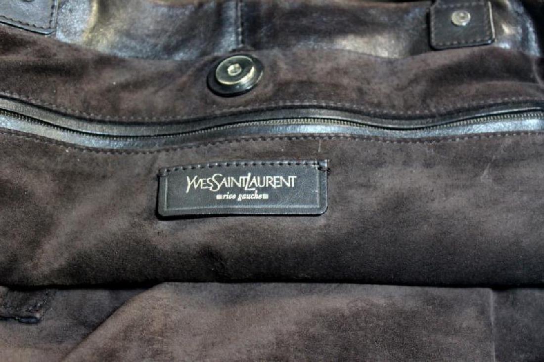 Vintage Yves St Laurent Leather Rive Gauche Purse. - 5