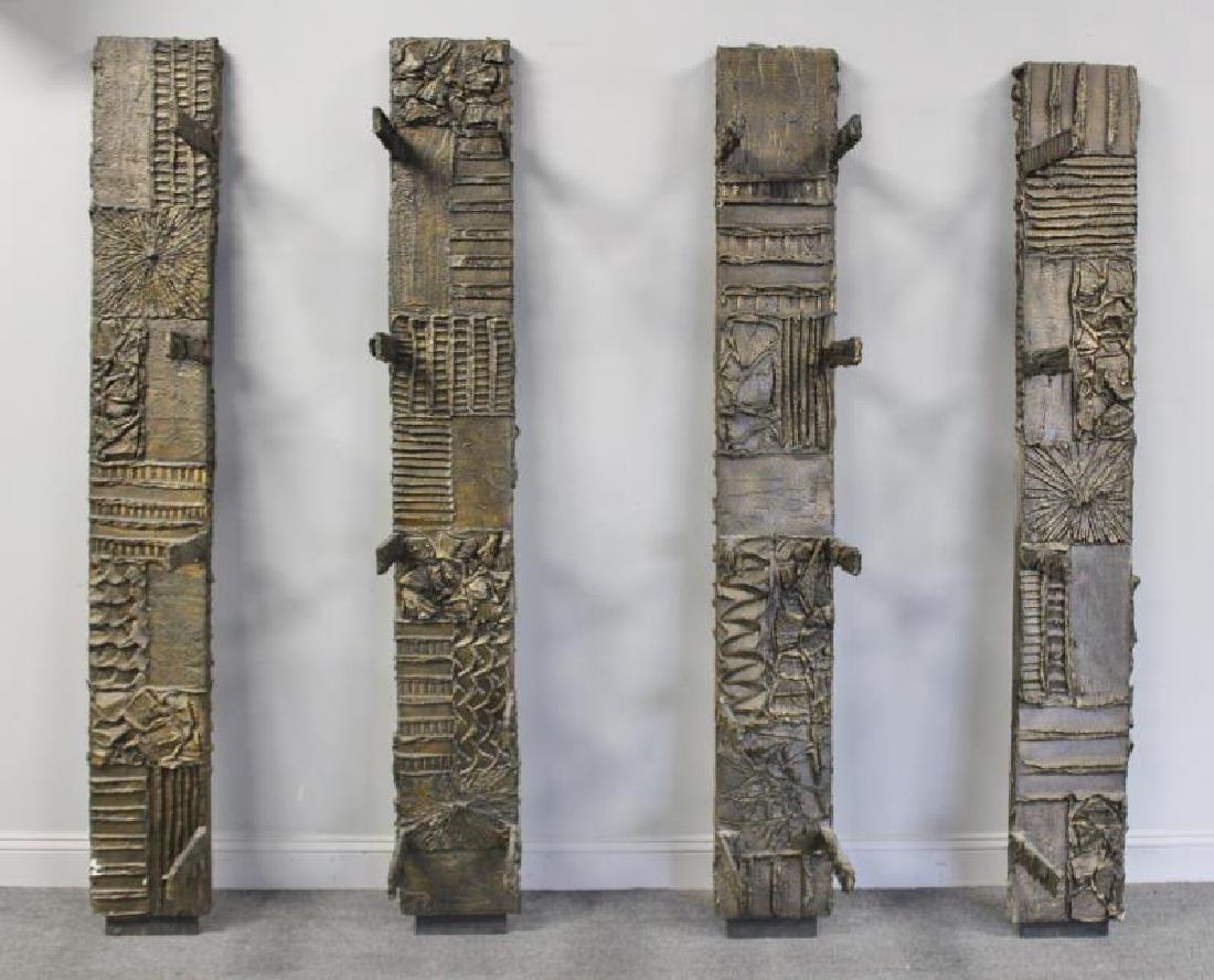 Rare Midcentury Paul Evans 4 Panel Wall Unit.