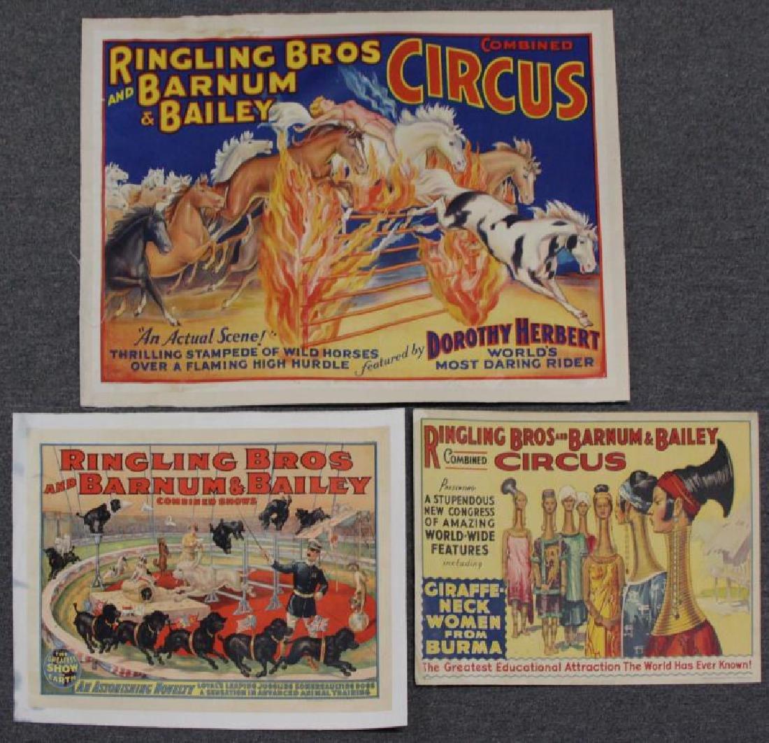Three Ringling Bros. and Barnum & Bailey Circus
