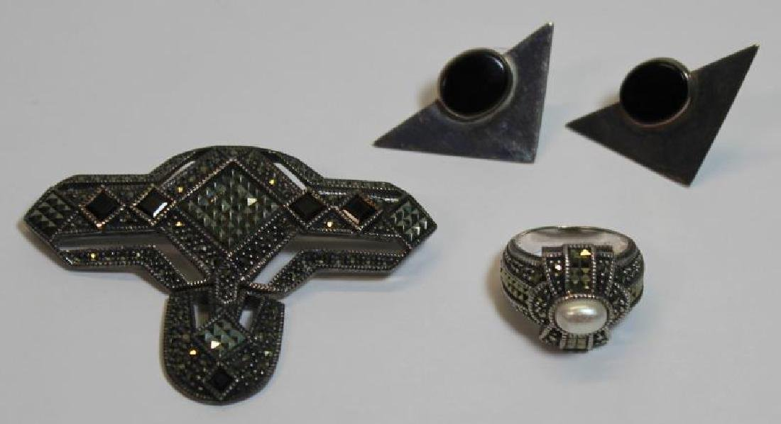 JEWELRY. Assorted Silver Jewelry and Accessories. - 4
