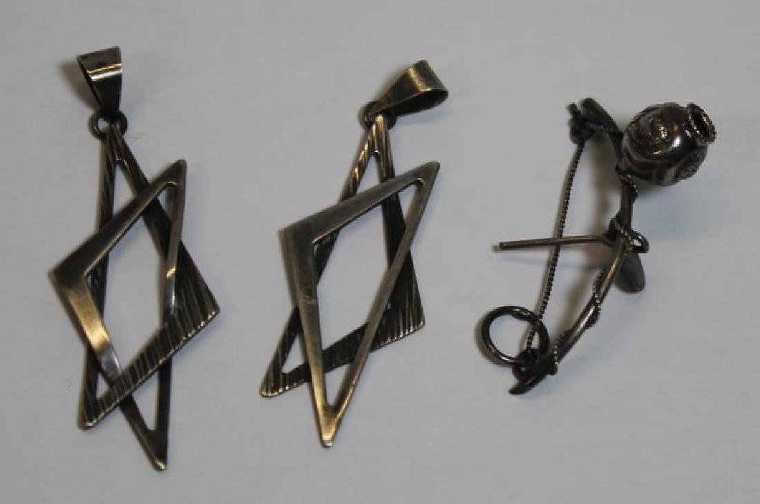 JEWELRY. Assorted Silver Jewelry and Accessories. - 7