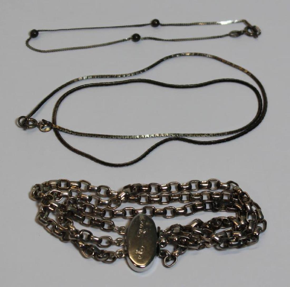 JEWELRY. Assorted Silver Jewelry and Accessories. - 8