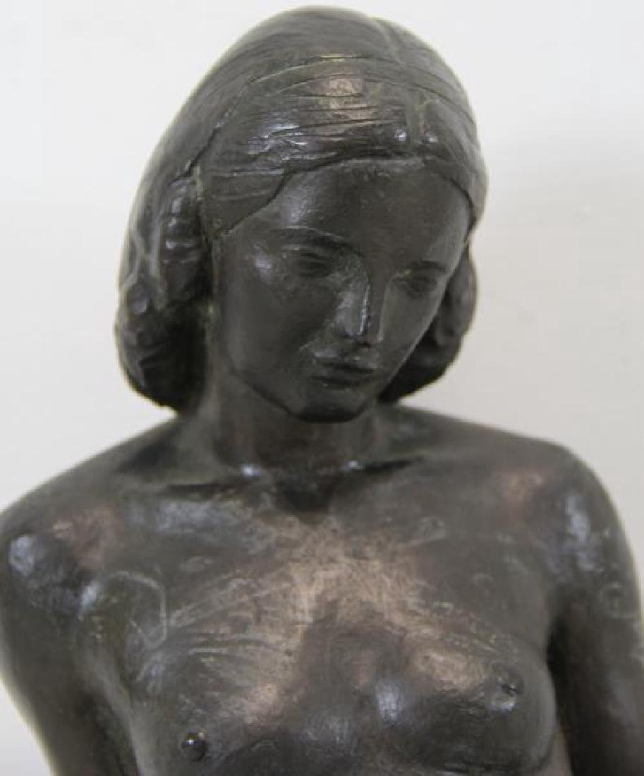 After Paul Manship Signed Bronze Of A Nude Beauty. - 2