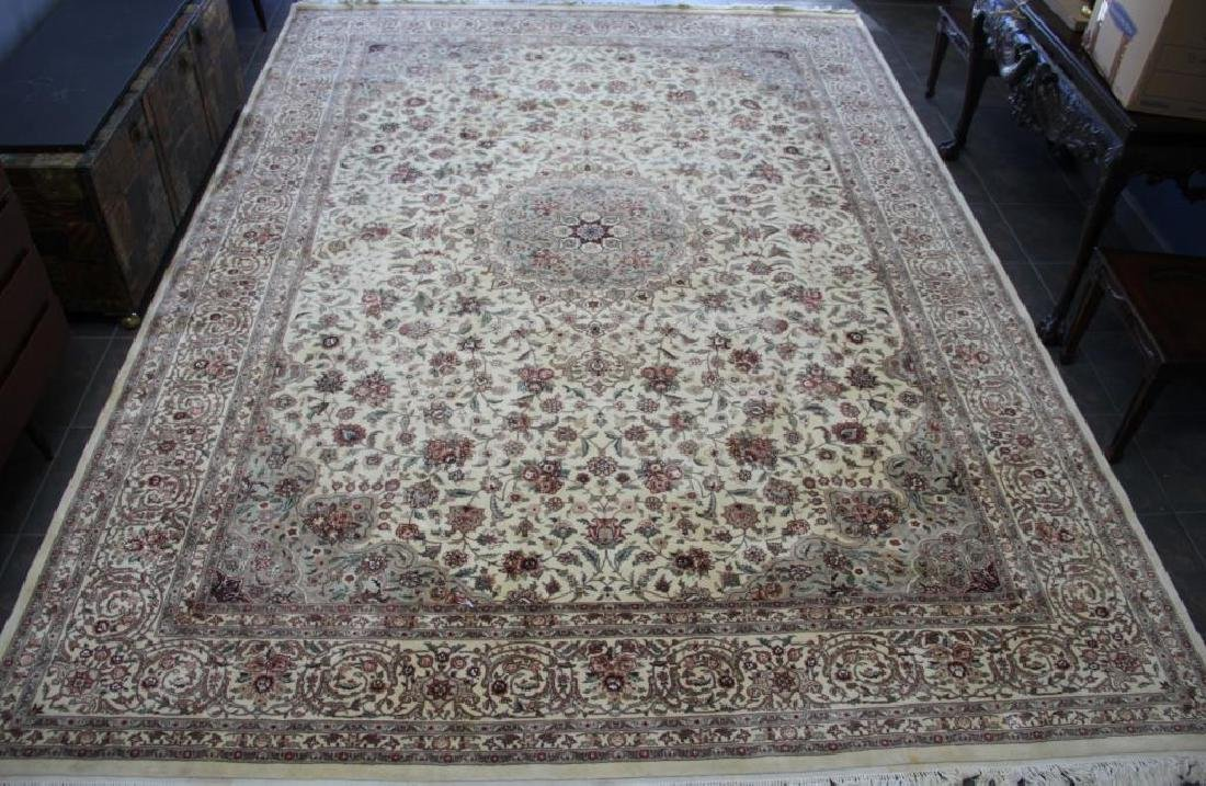 Finely Woven Vintage Handmade Roomsize