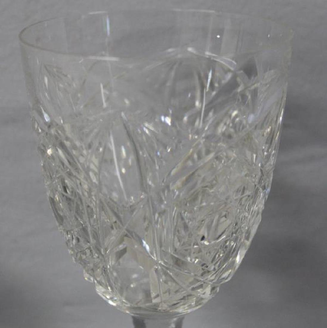 Baccarat Lagney Crystal Stemware and Decanter. - 3