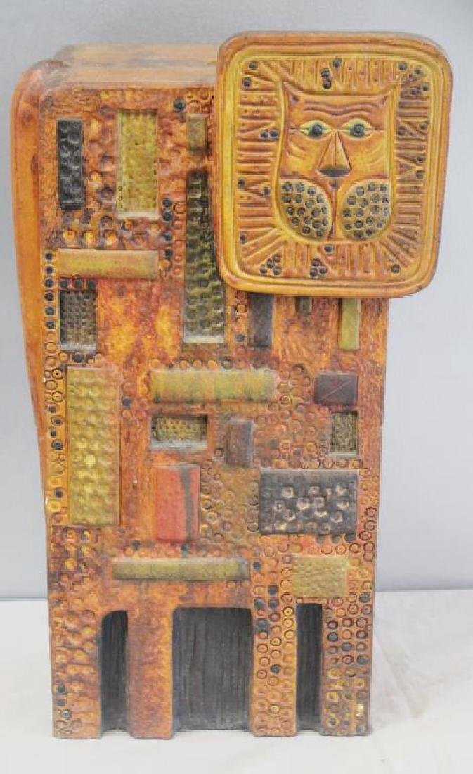 Midcentury Marcello Fantoni; Raymor Ceramic Lion.