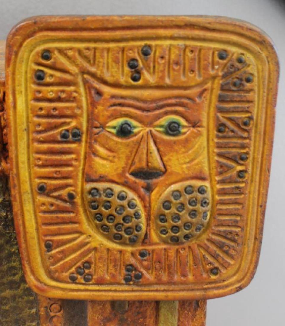 Midcentury Marcello Fantoni; Raymor Ceramic Lion. - 2