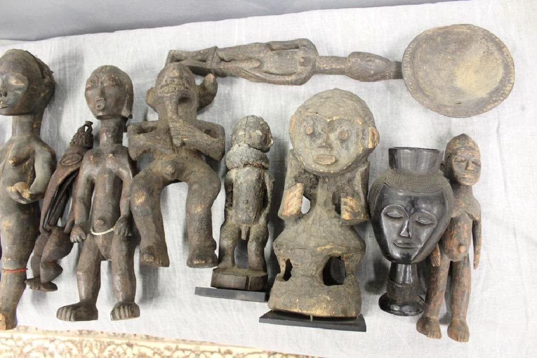 Large Grouping Of  10 Antique African /Tribal - 2