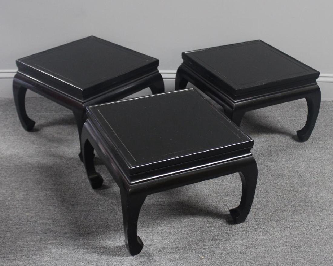 Midcentury Set of 3 John Stuart End Tables.