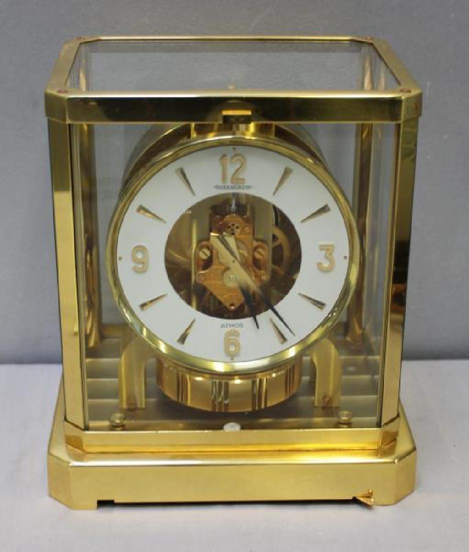 Jaeger LeCoultre Atmos Clock Serial # 384052.