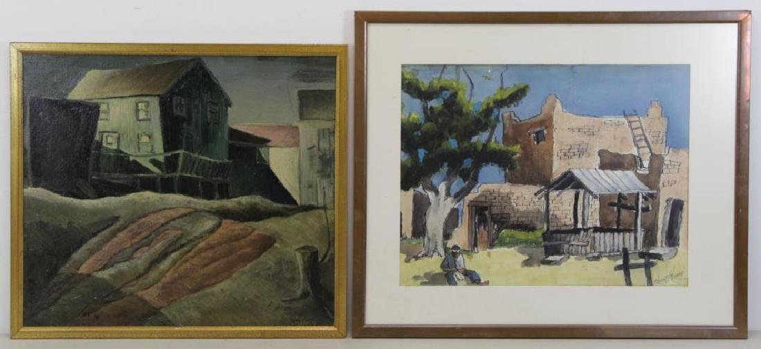 HERING, Harry. Two Works.