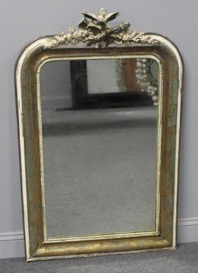 19th Century  Giltwood Mirror.