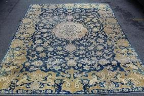 Antique Finely Woven handmade Roomsize carpet .