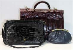 Vintage Couture Ladies Hand Bag Grouping.
