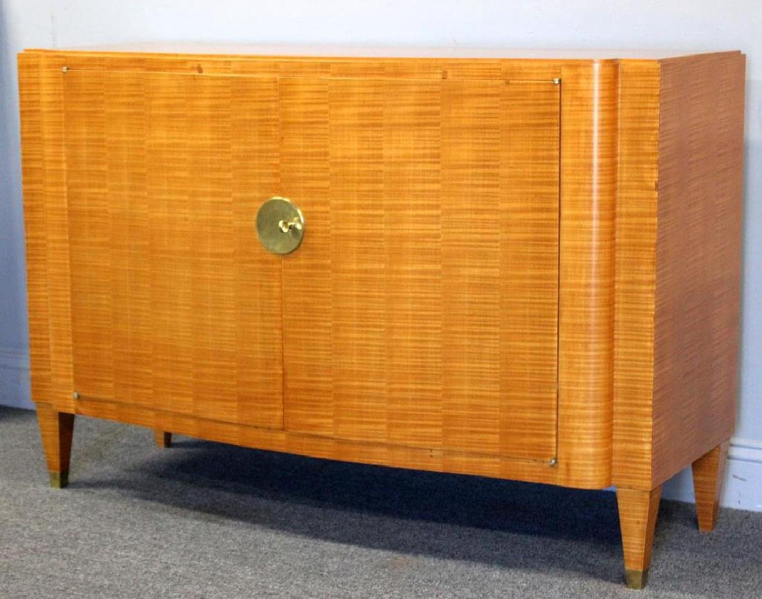 French Jules Leleu (Attr.) Two Door Cabinet.