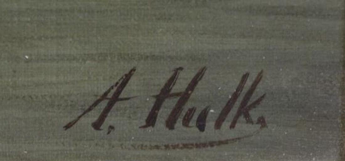 HULK, Abraham. Oil on Canvas. Fishing Boats at - 5