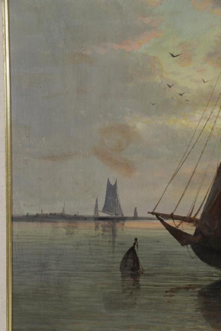 HULK, Abraham. Oil on Canvas. Fishing Boats at - 7