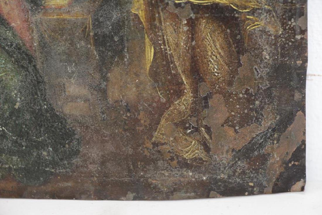 18th/19th C. Oil on Copper. The Annunciation. - 5