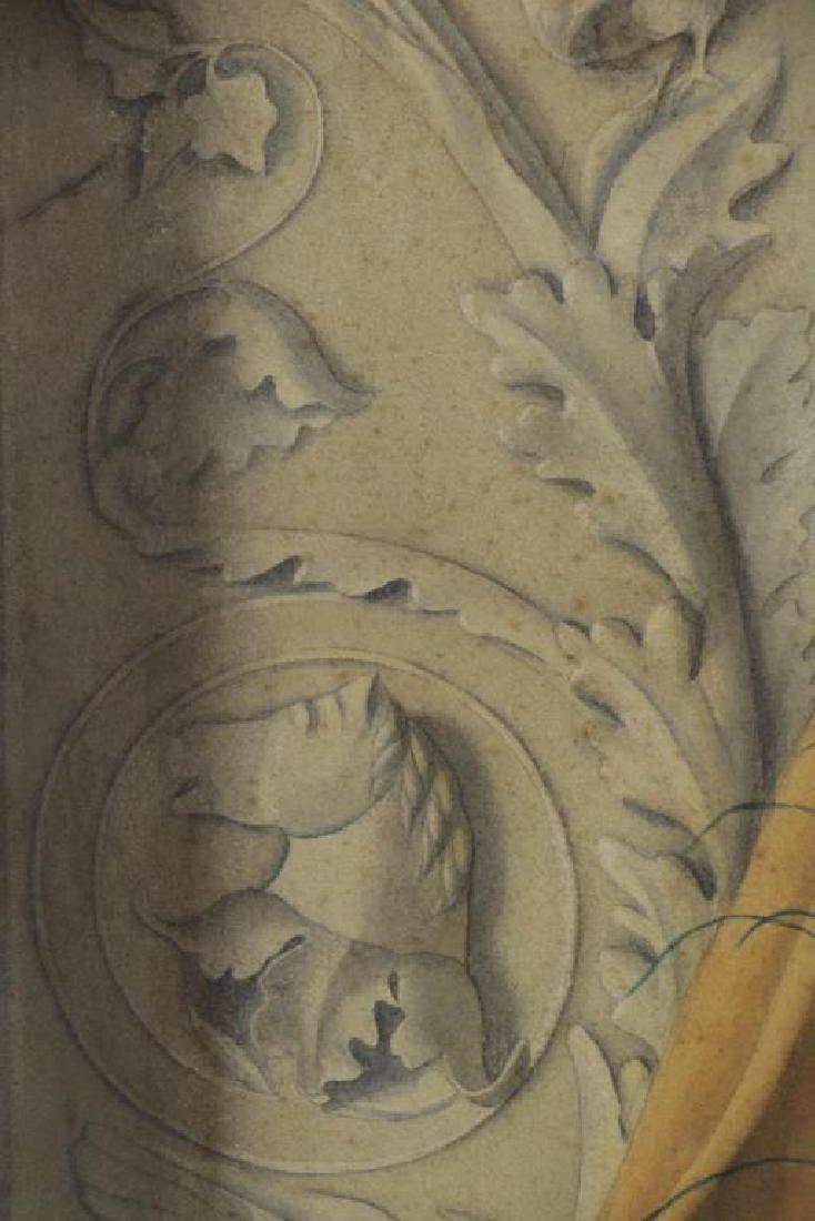 BROOKS, Nicholas. Watercolor on Paper. Still Life - 5