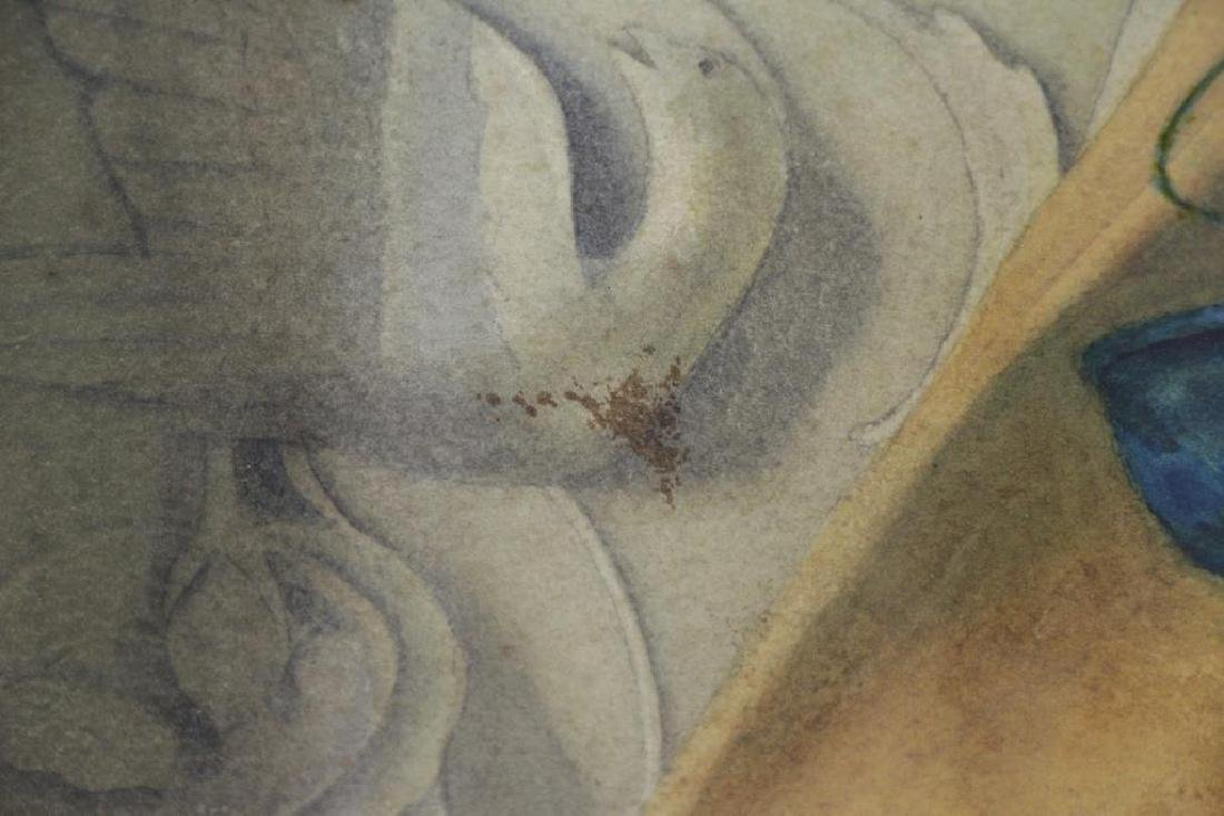 BROOKS, Nicholas. Watercolor on Paper. Still Life - 6