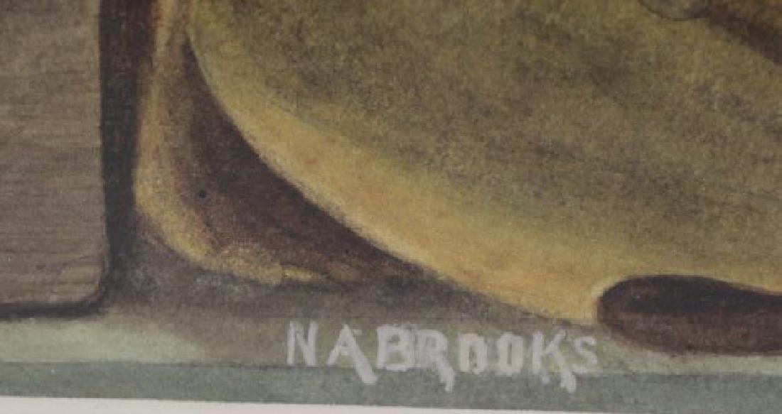 BROOKS, Nicholas. Watercolor on Paper. Still Life - 7