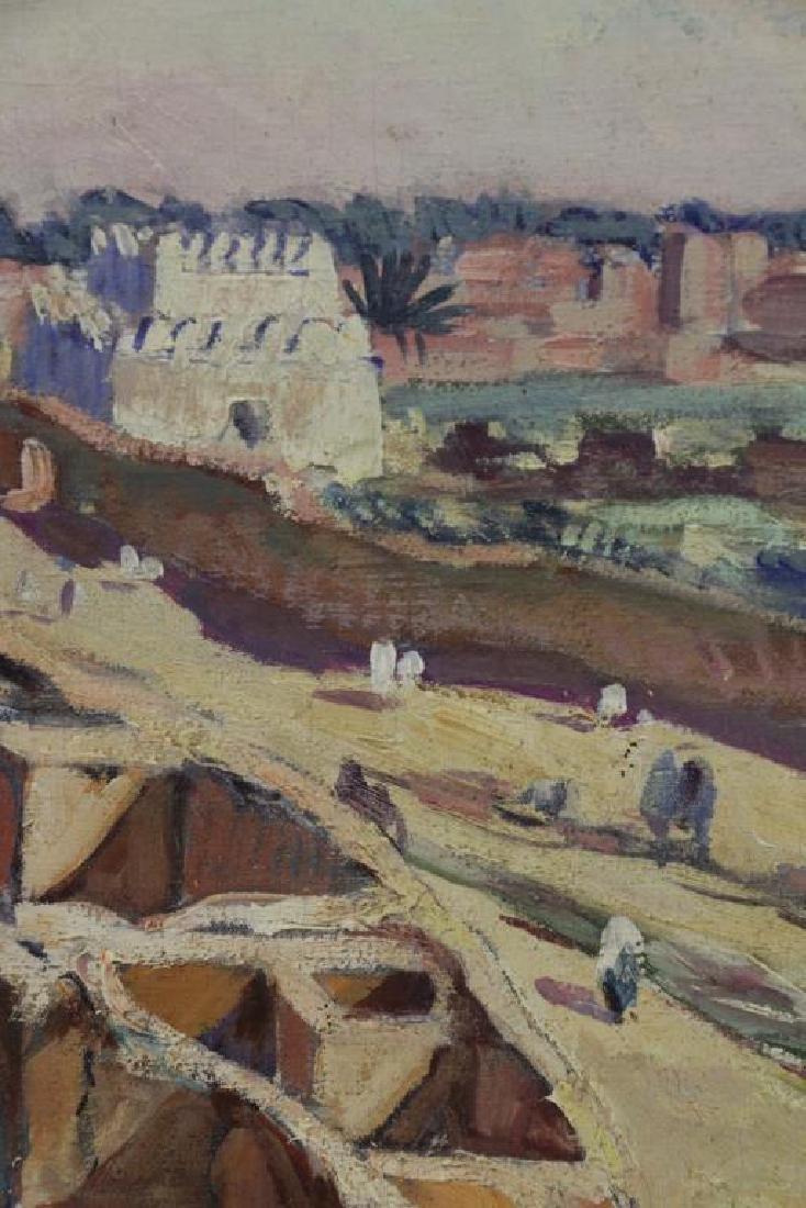PONTOY, Henri Jean. Orientalist Oil on Canvas. The - 5