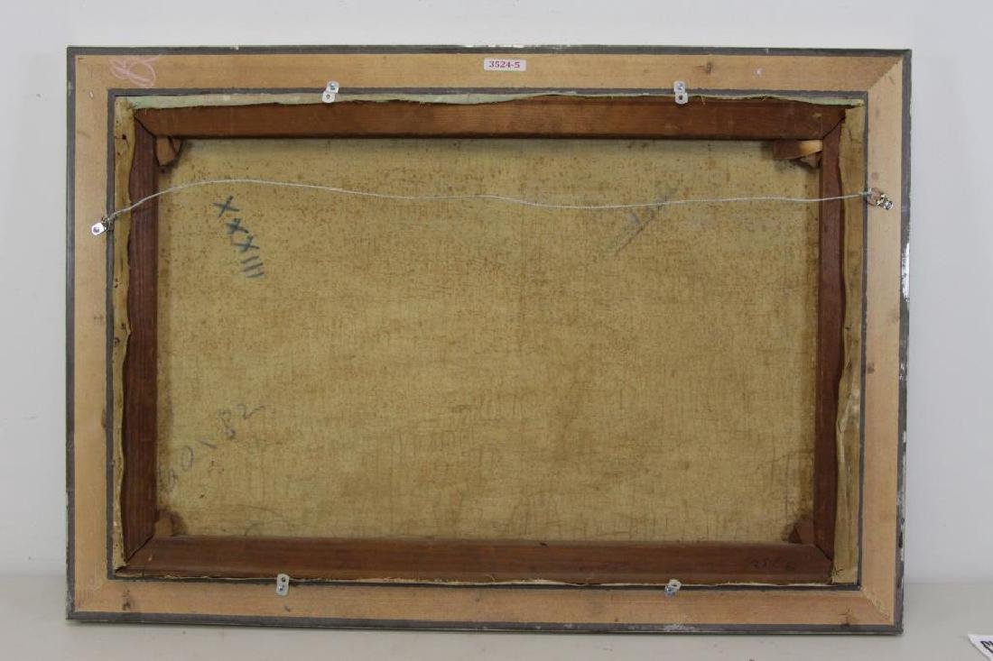 PONTOY, Henri Jean. Orientalist Oil on Canvas. The - 7