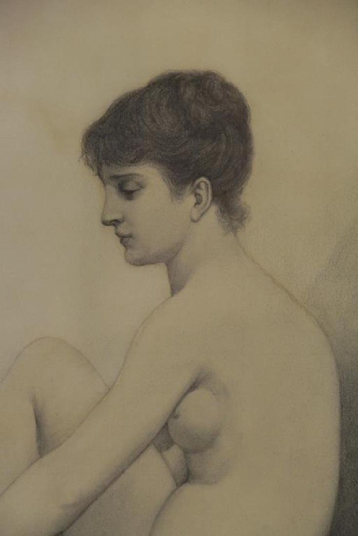 BOUGUEREAU, William (Attributed). Pencil on Paper. - 3