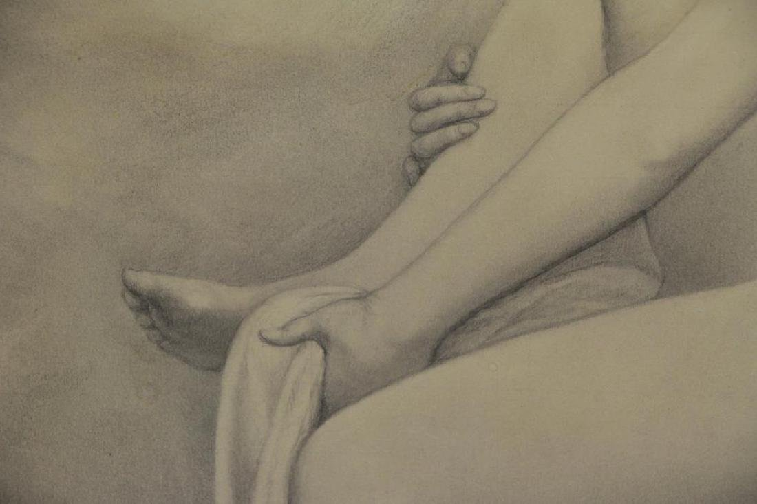 BOUGUEREAU, William (Attributed). Pencil on Paper. - 4