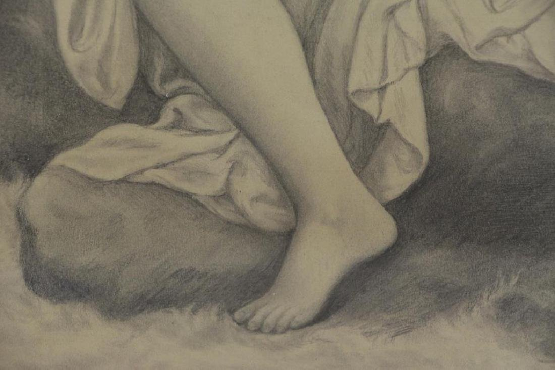 BOUGUEREAU, William (Attributed). Pencil on Paper. - 5