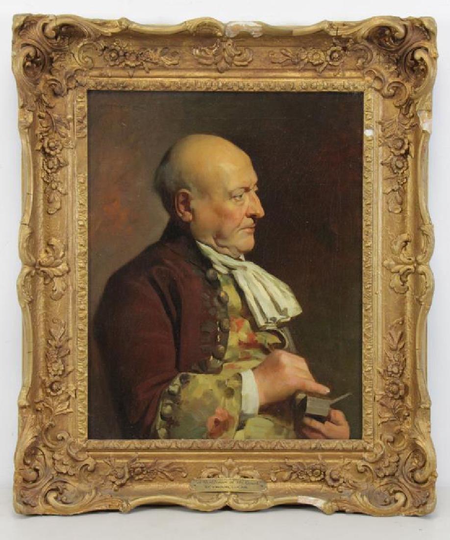 LUCAS, John Seymour. Oil on Canvas. Gentleman with - 2