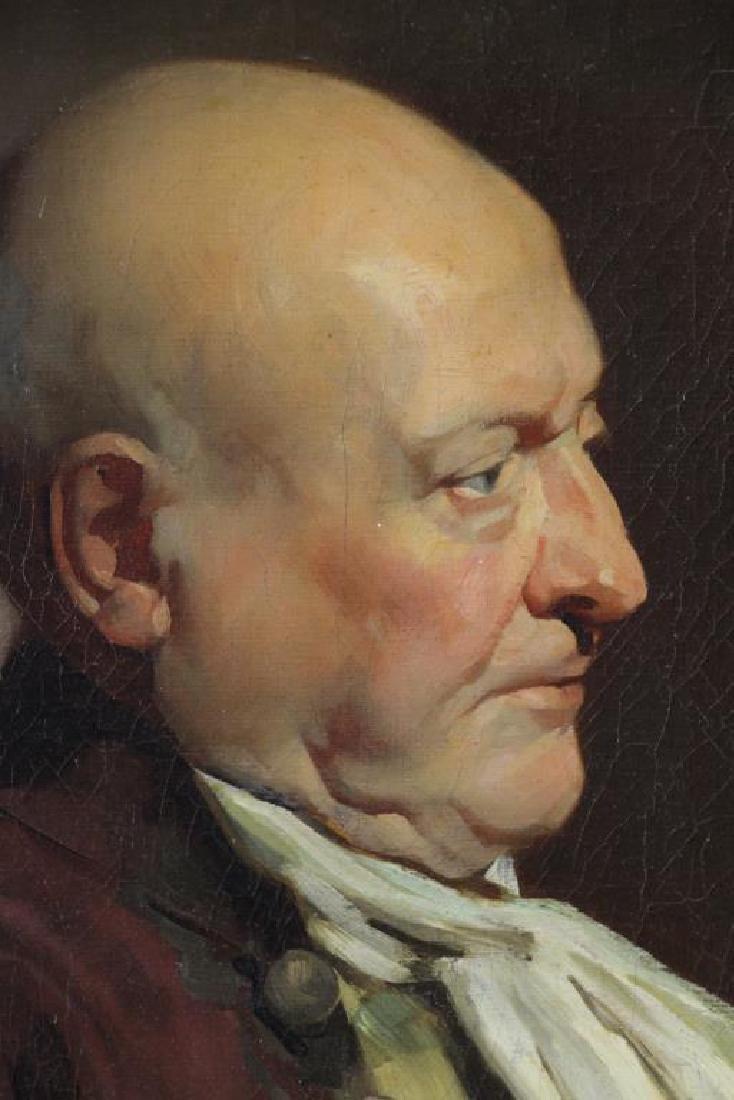 LUCAS, John Seymour. Oil on Canvas. Gentleman with - 3