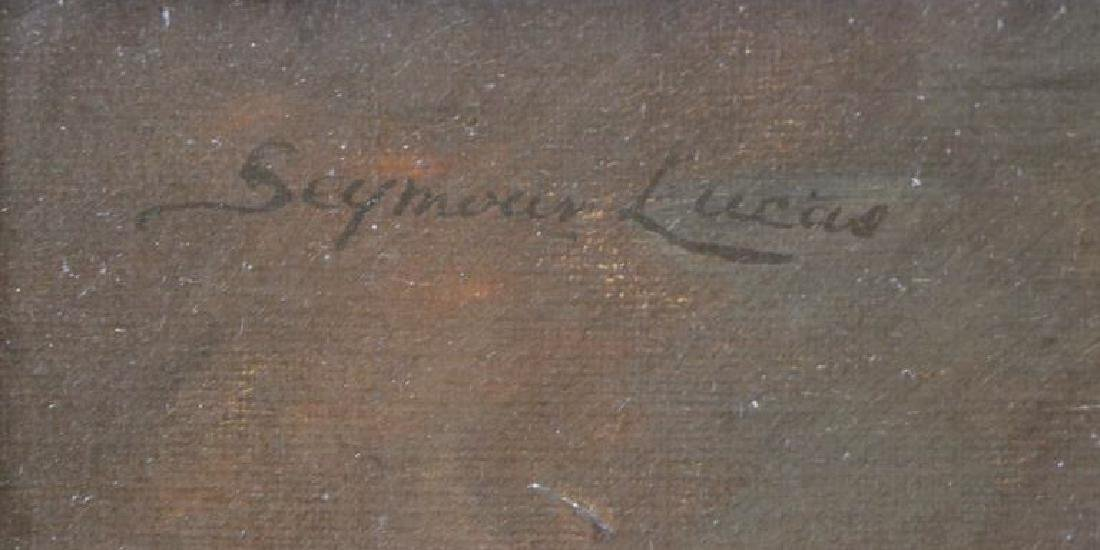 LUCAS, John Seymour. Oil on Canvas. Gentleman with - 5