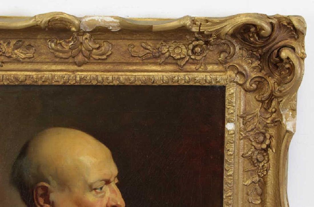 LUCAS, John Seymour. Oil on Canvas. Gentleman with - 7
