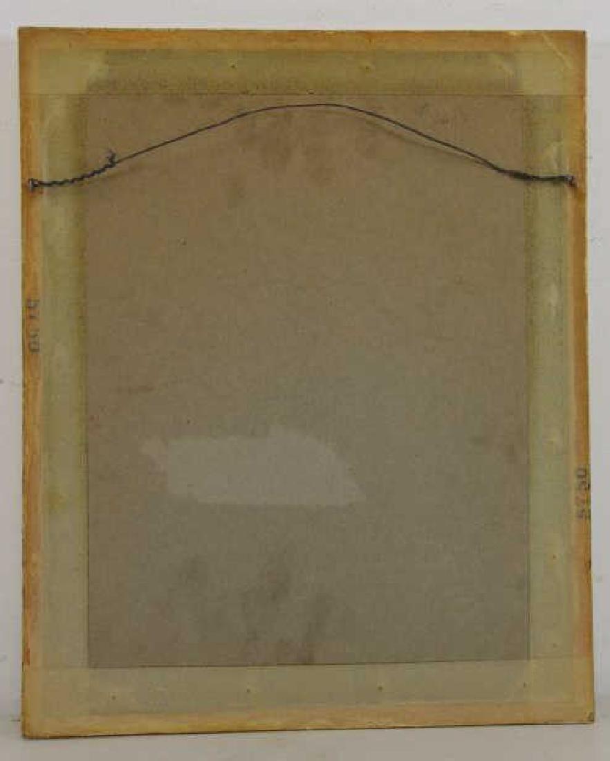 """RENOIR, Pierre-Auguste. Etching """"Le Chapeau - 5"""