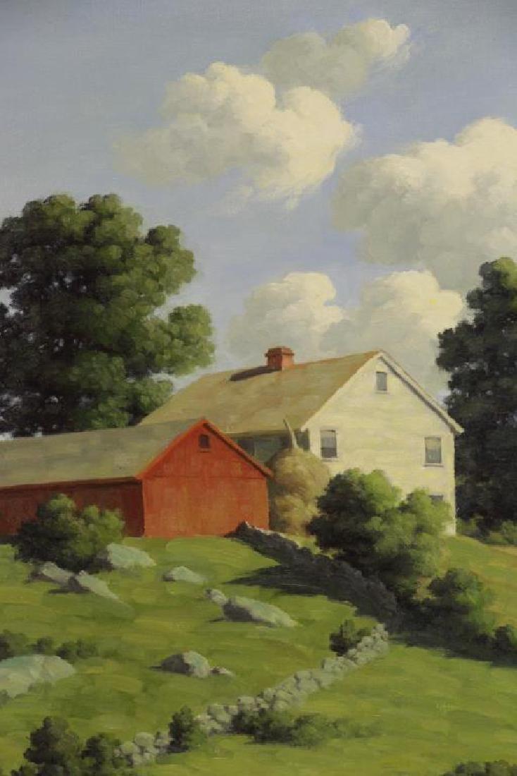 BRUESTLE, Bertram. Oil on Canvas. Farm House on a - 3