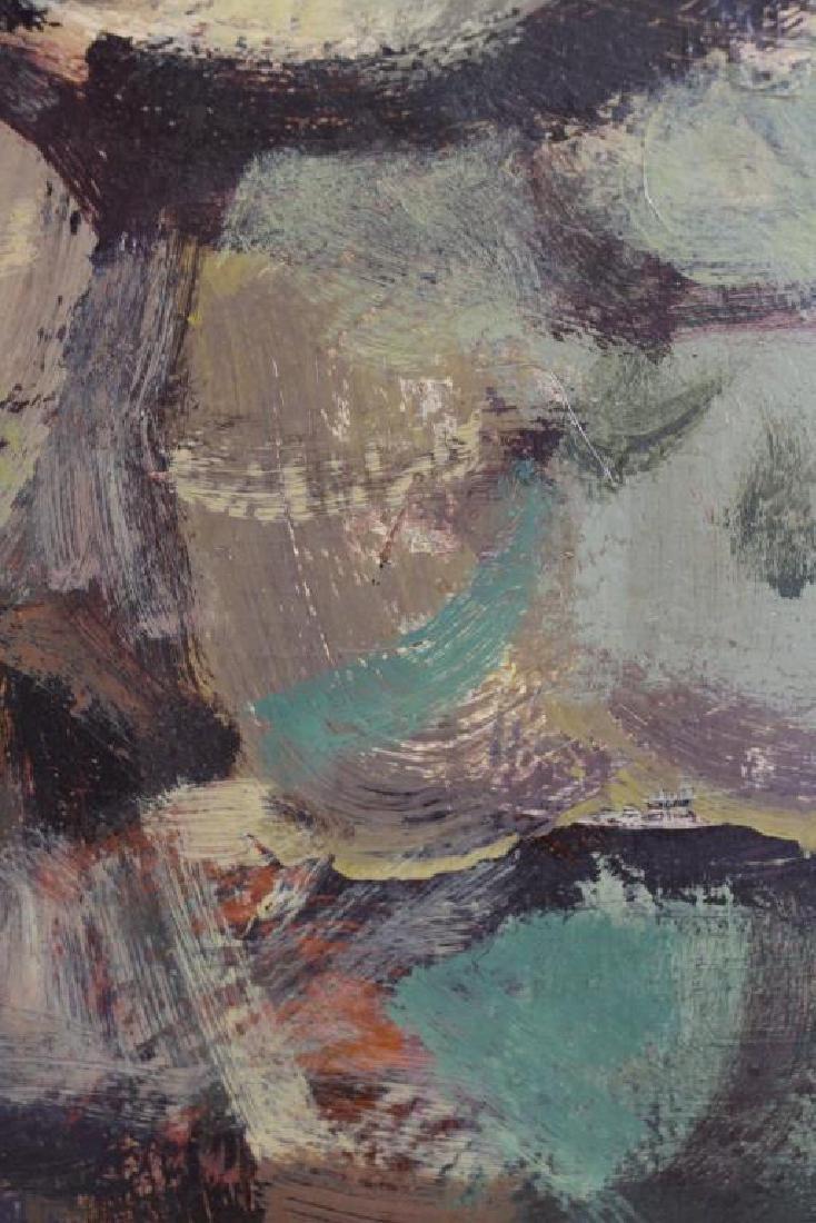 TABUENA, Romeo. Oil on Board. Houses in Landscape, - 4