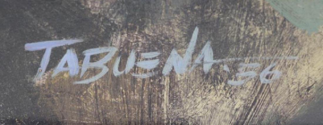 TABUENA, Romeo. Oil on Board. Houses in Landscape, - 5