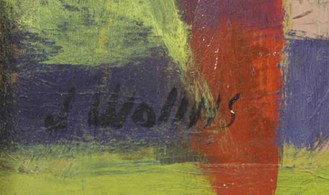 WOLINS, Joseph. Oil on Board. Musicians. - 6