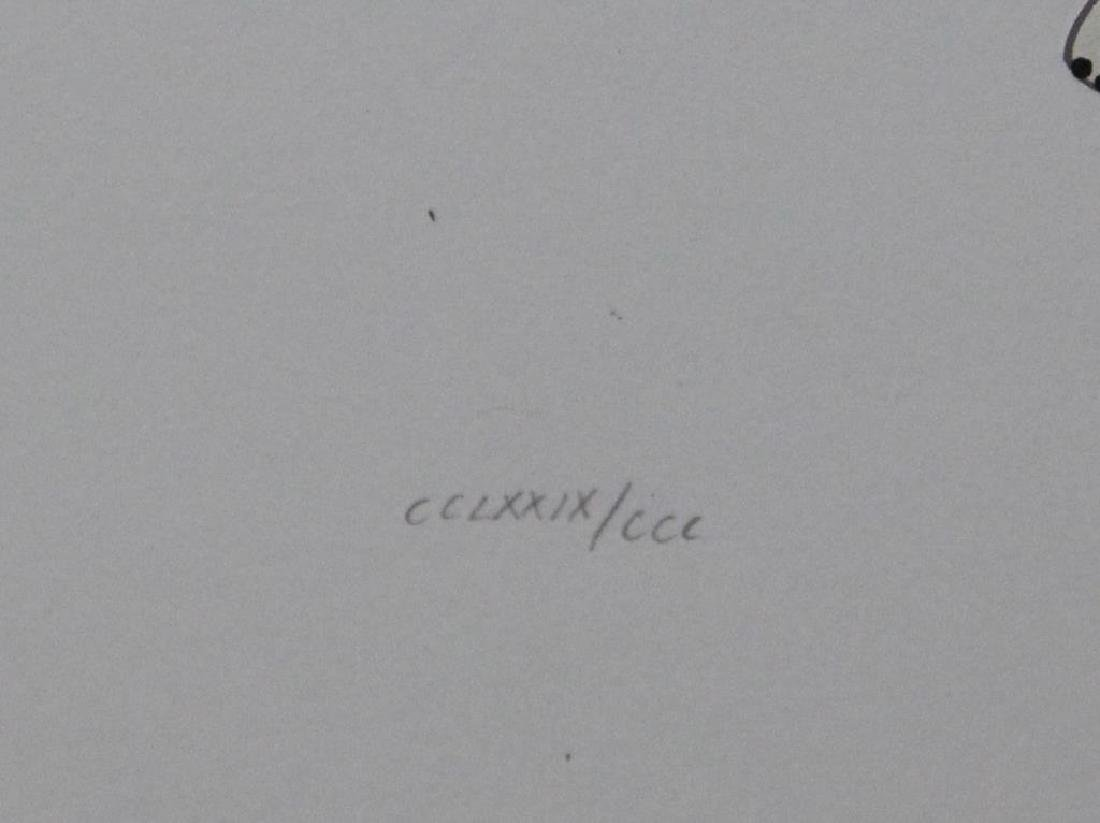 "ERTE. Serigraph. ""Rose Gown"". - 5"
