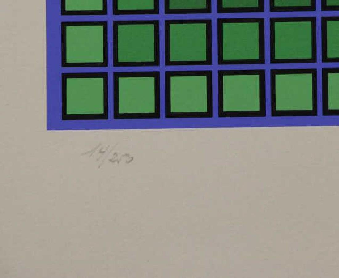 VASARELY, Victor. Two Signed Screenprints. - 7