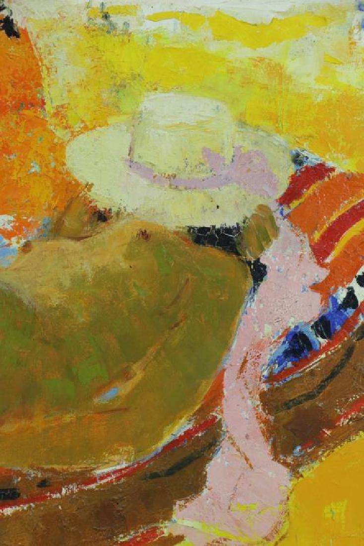 TAURELLE, Bernard. Oil on Canvas. Nude on the - 3