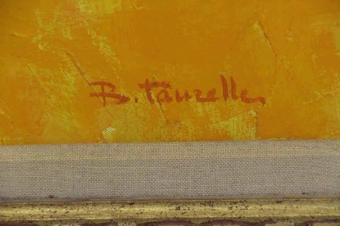 TAURELLE, Bernard. Oil on Canvas. Nude on the - 5