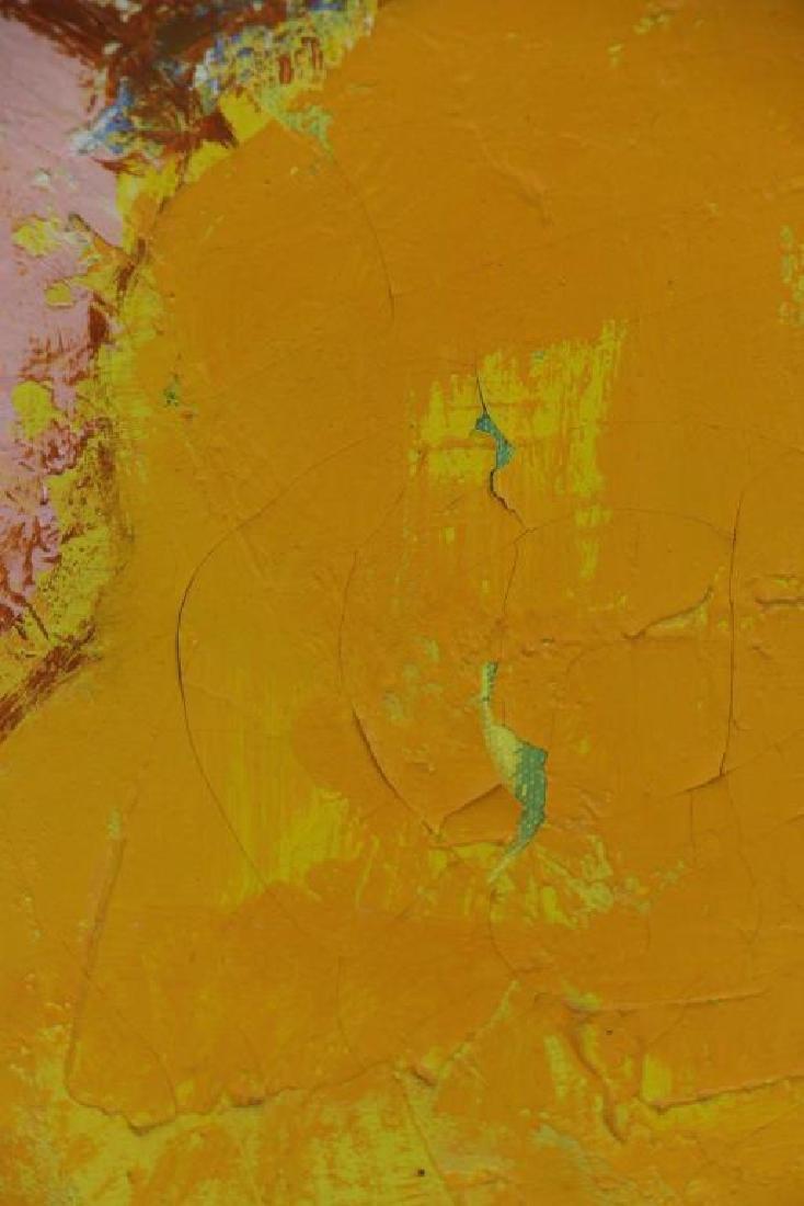 TAURELLE, Bernard. Oil on Canvas. Nude on the - 6