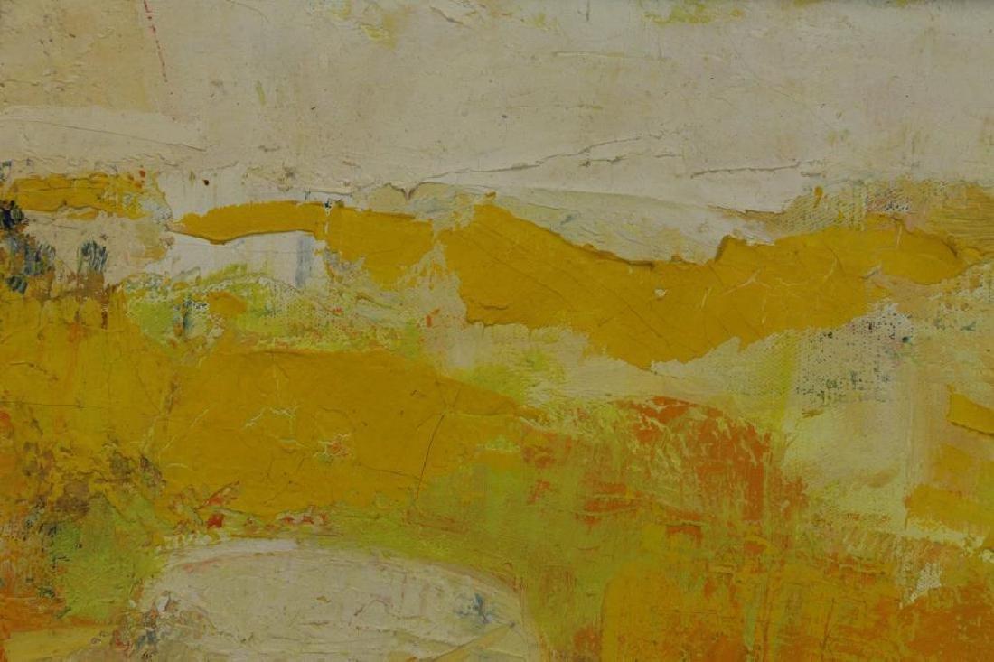 TAURELLE, Bernard. Oil on Canvas. Nude on the - 7