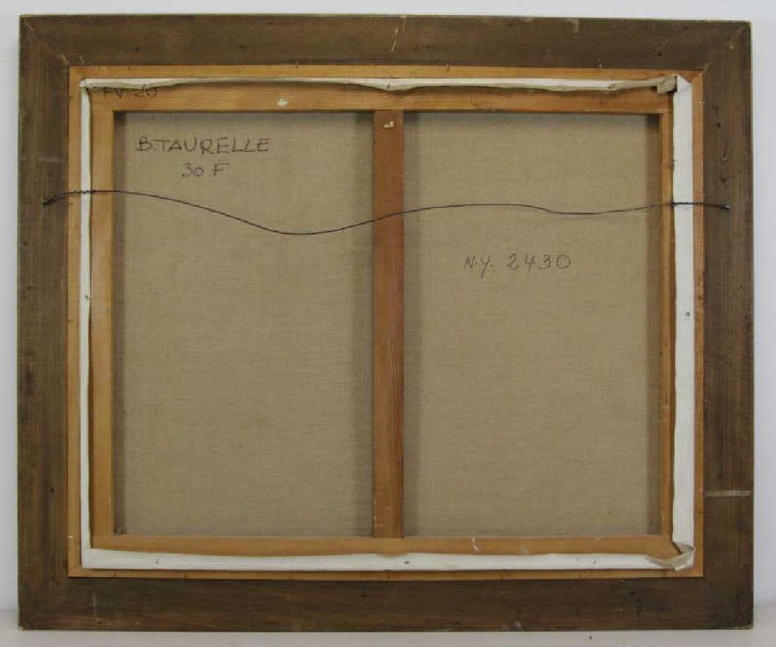 TAURELLE, Bernard. Oil on Canvas. Nude on the - 8